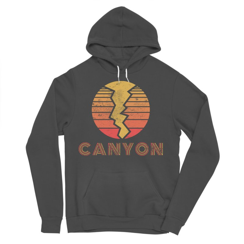 Retro Canyon - Canyoneering Women's Sponge Fleece Pullover Hoody by The Wandering Fools