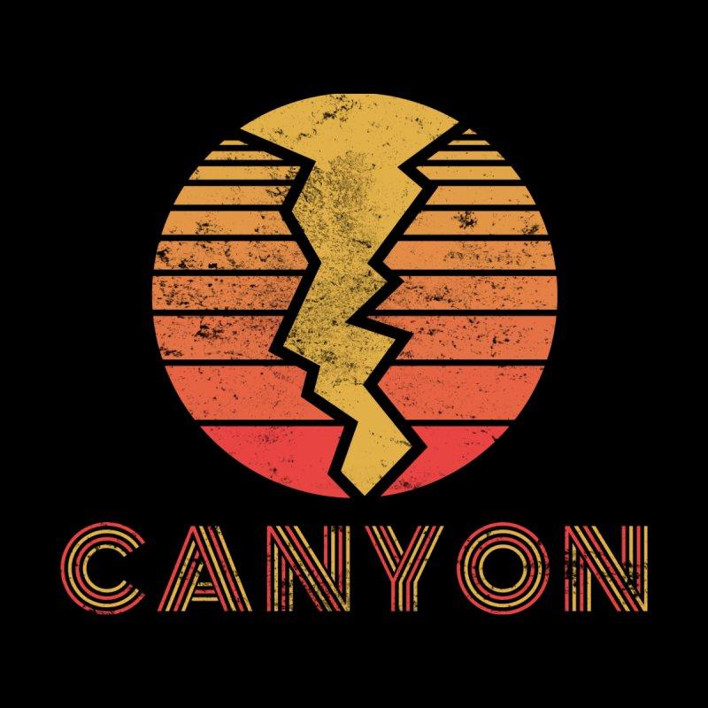 Retro Canyon - Canyoneering Men's T-Shirt by The Wandering Fools Artist Shop