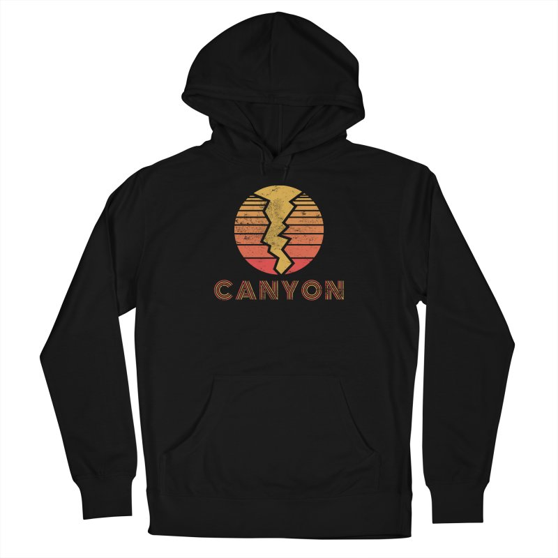 Retro Canyon - Canyoneering Women's Pullover Hoody by The Wandering Fools Artist Shop
