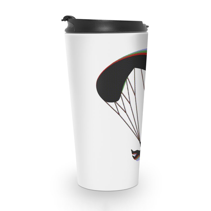 Paragliding RGB Accessories Travel Mug by The Wandering Fools