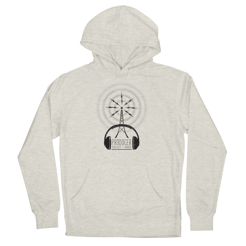 Producer: Podcasts + Radio Men's French Terry Pullover Hoody by The Wandering Fools