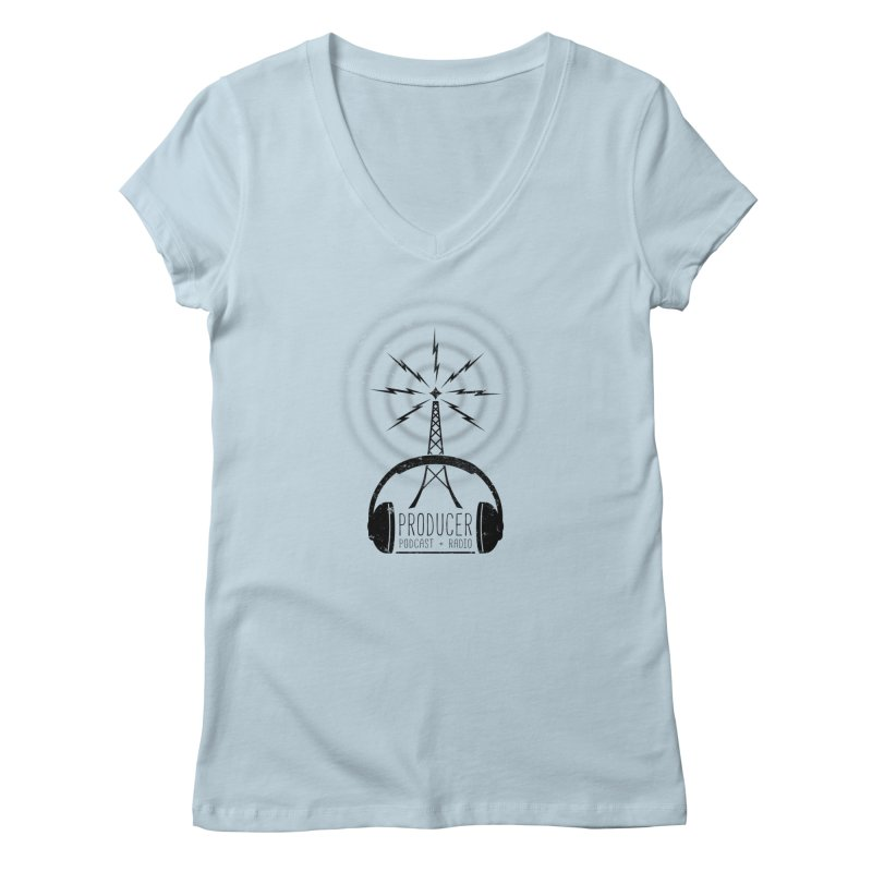 Producer: Podcasts + Radio Women's V-Neck by The Wandering Fools