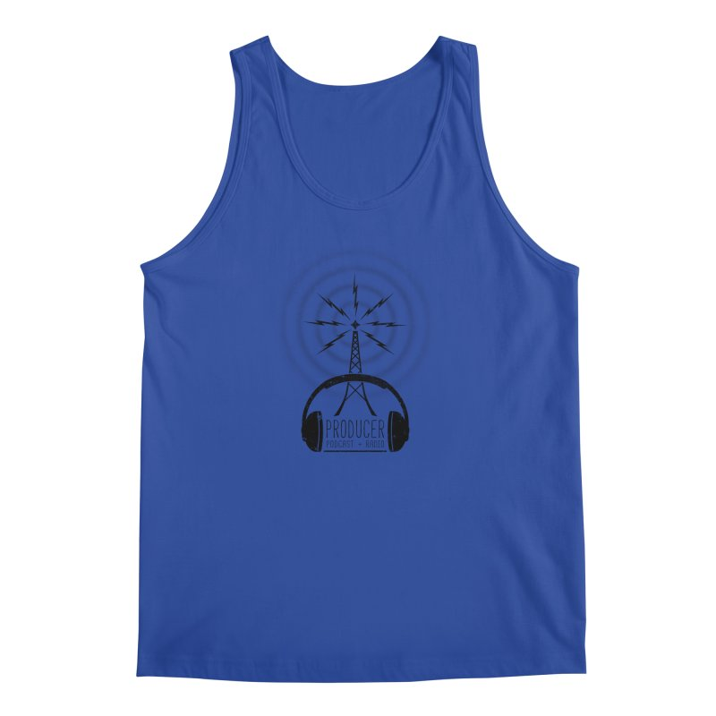 Producer: Podcasts + Radio Men's Regular Tank by The Wandering Fools