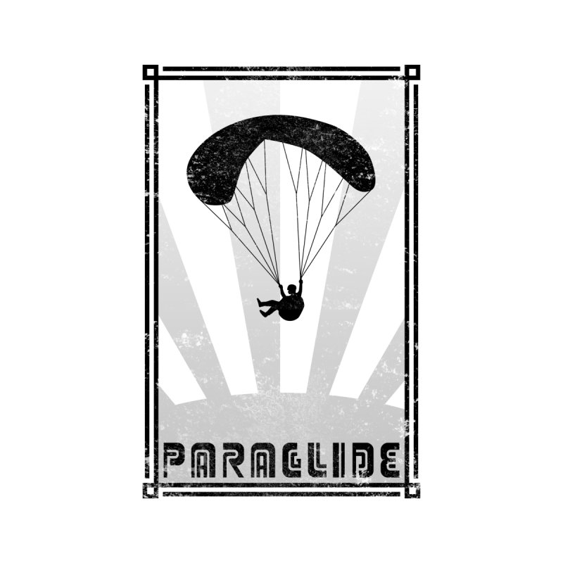 Paraglide Retro Accessories Sticker by The Wandering Fools Artist Shop