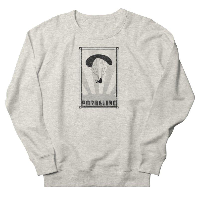 Paraglide Retro Men's Sweatshirt by The Wandering Fools Artist Shop