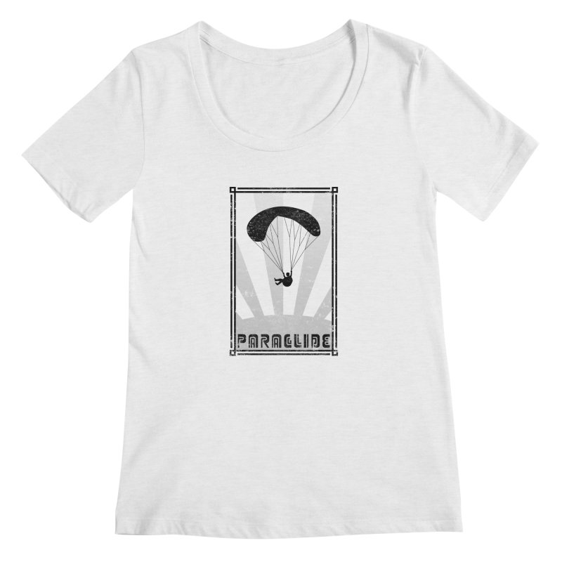 Paraglide Retro Women's Scoop Neck by The Wandering Fools