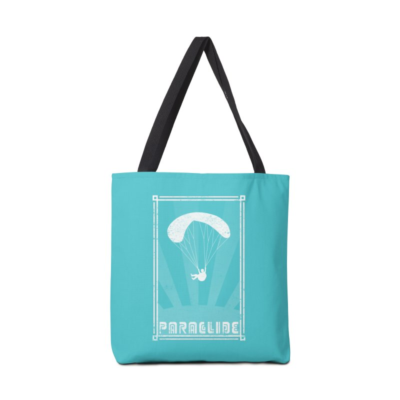 Paraglide Retro Accessories Tote Bag Bag by The Wandering Fools