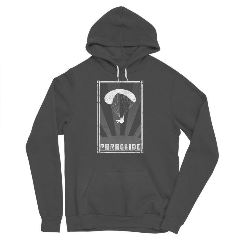 Paraglide Retro Women's Sponge Fleece Pullover Hoody by The Wandering Fools