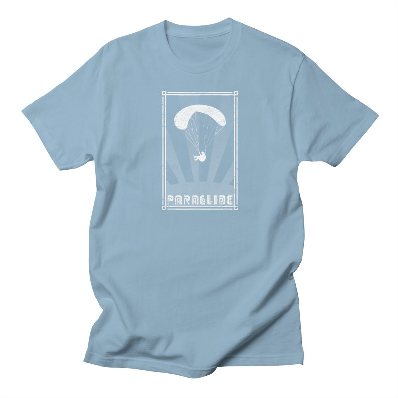 Paraglide Retro Women's Regular Unisex T-Shirt by The Wandering Fools