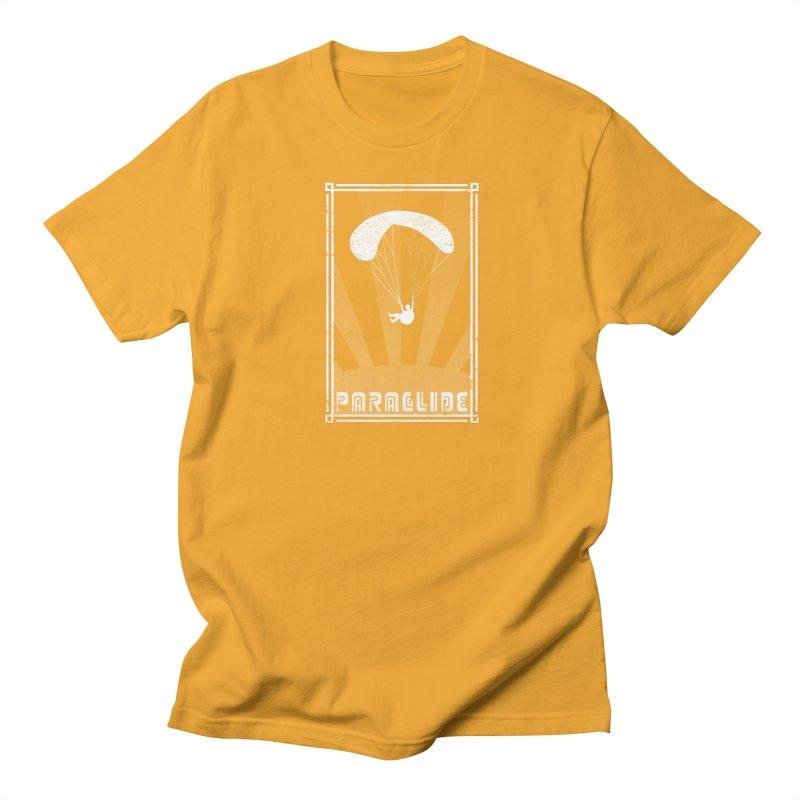 Paraglide Retro Men's Regular T-Shirt by The Wandering Fools
