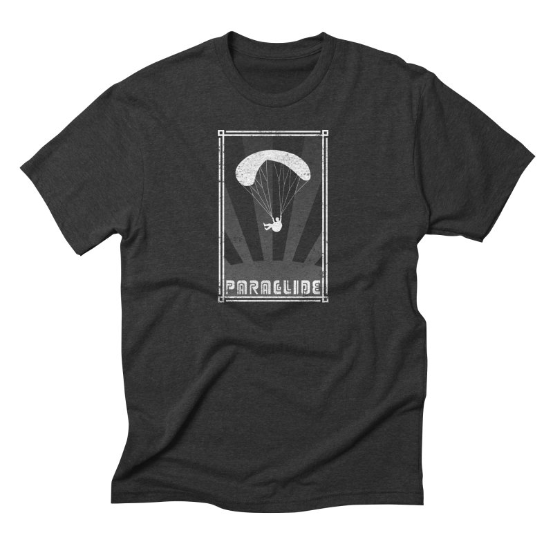 Paraglide Retro Men's Triblend T-Shirt by The Wandering Fools