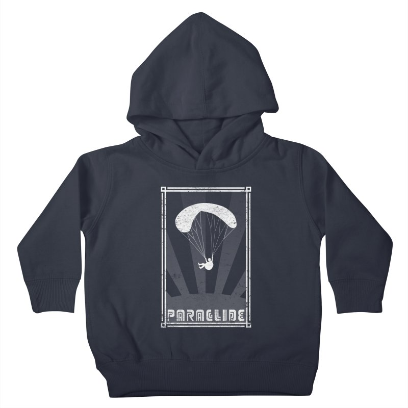 Paraglide Retro Kids Toddler Pullover Hoody by The Wandering Fools