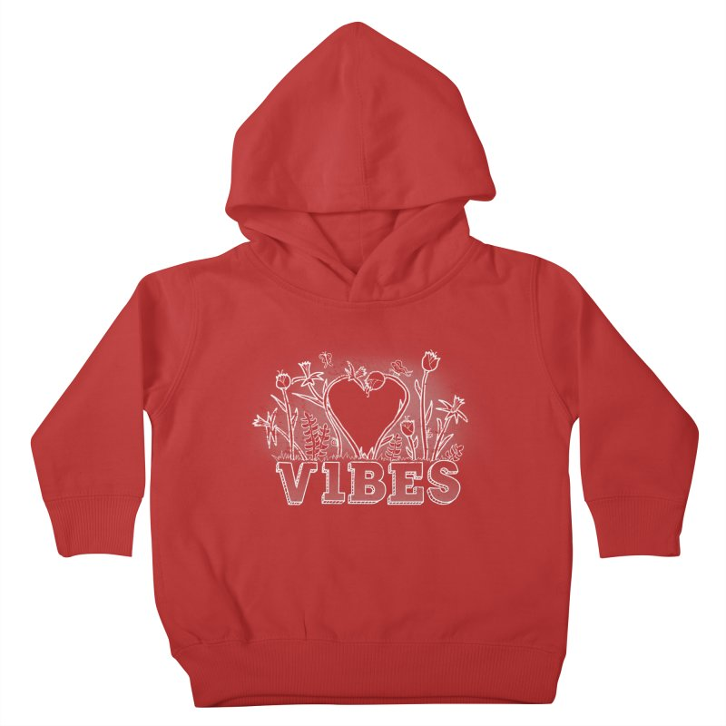 Vibes Kids Toddler Pullover Hoody by The Wandering Fools