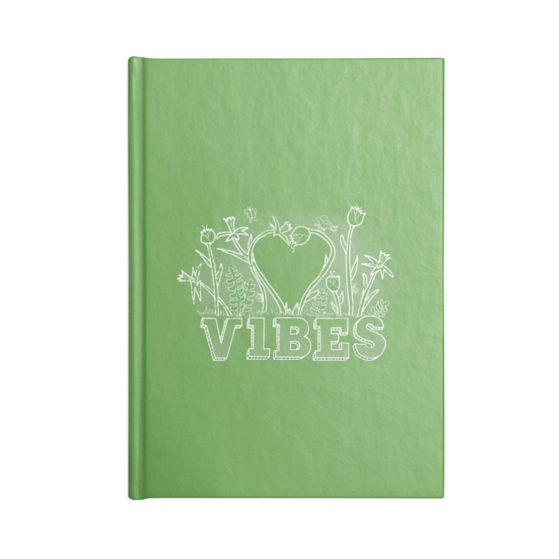 Vibes Accessories Lined Journal Notebook by The Wandering Fools