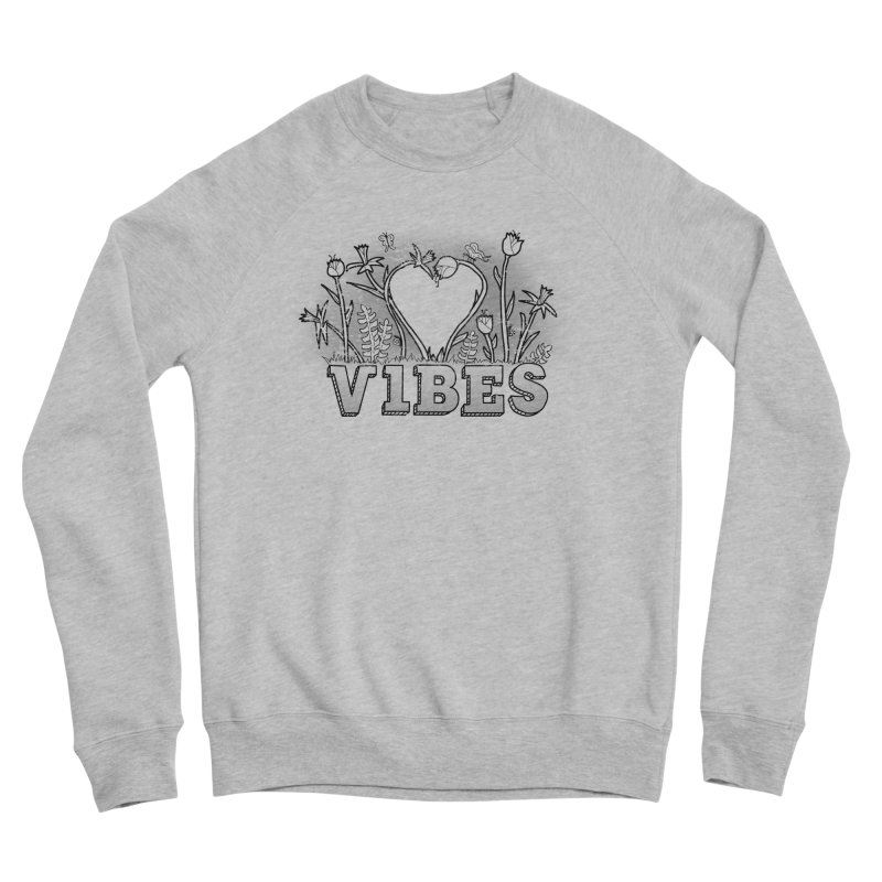 Vibes Men's Sponge Fleece Sweatshirt by The Wandering Fools