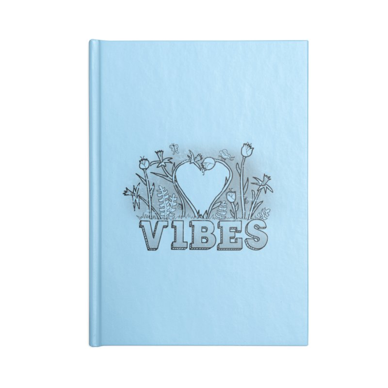 Vibes Accessories Blank Journal Notebook by The Wandering Fools