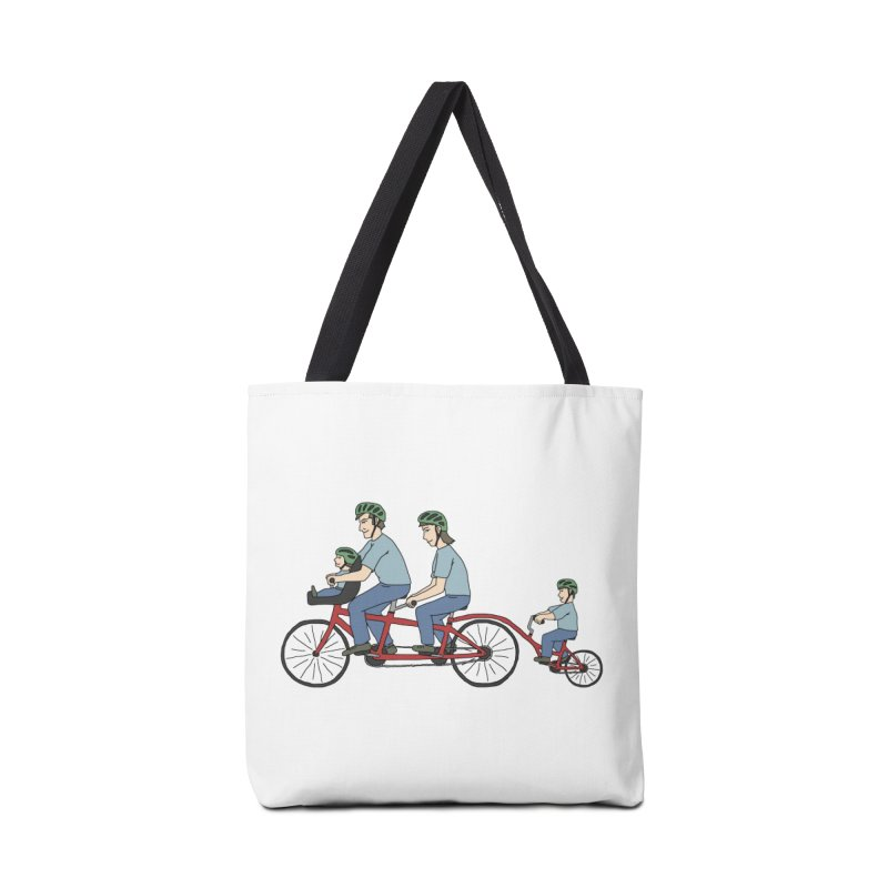 Quad Bicycle Accessories Tote Bag Bag by The Wandering Fools