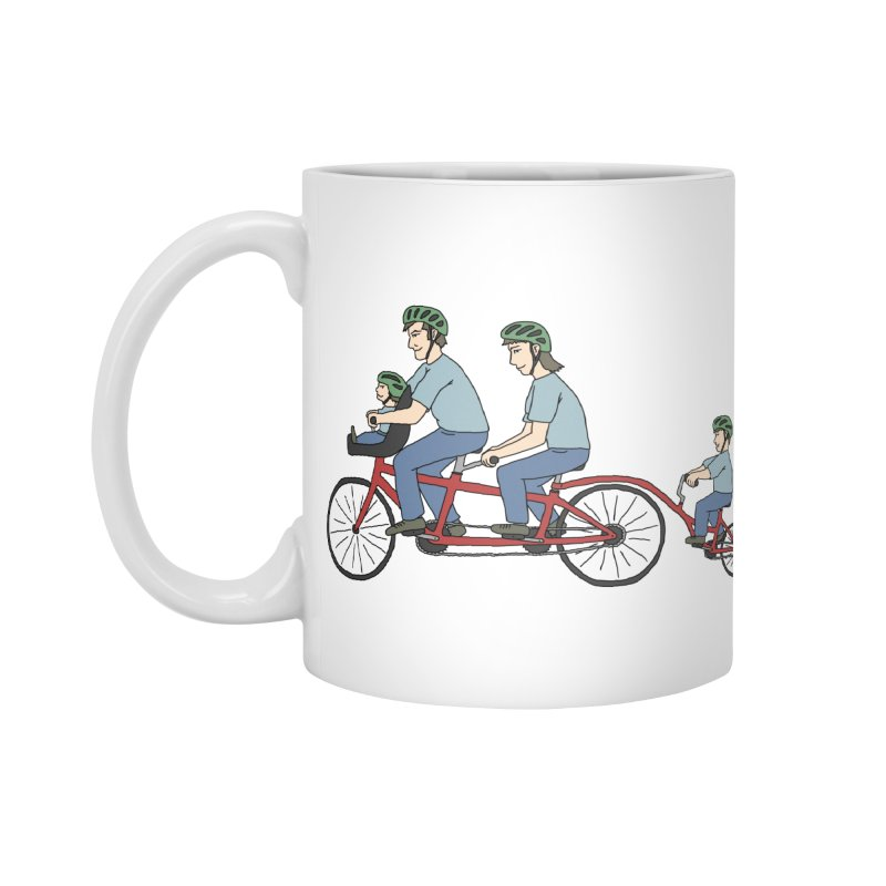 Quad Bicycle Accessories Standard Mug by The Wandering Fools
