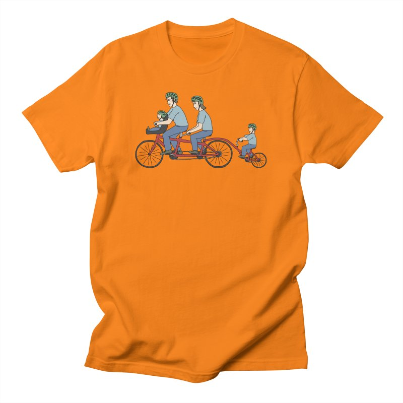 Quad Bicycle Men's T-Shirt by The Wandering Fools Artist Shop