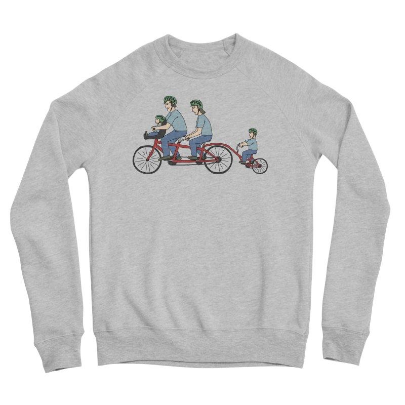 Quad Bicycle Women's Sponge Fleece Sweatshirt by The Wandering Fools