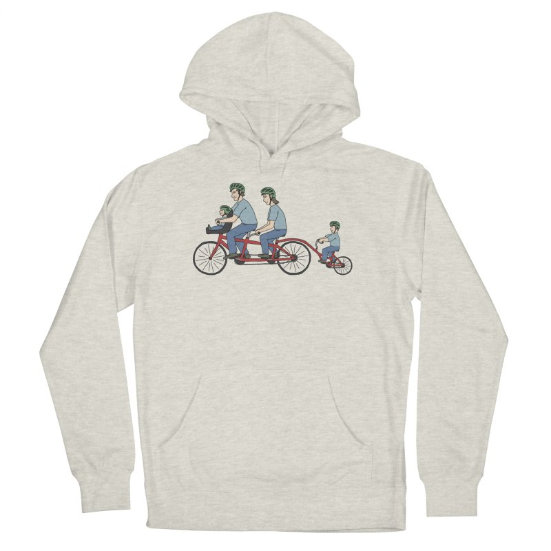 Quad Bicycle Men's Pullover Hoody by The Wandering Fools