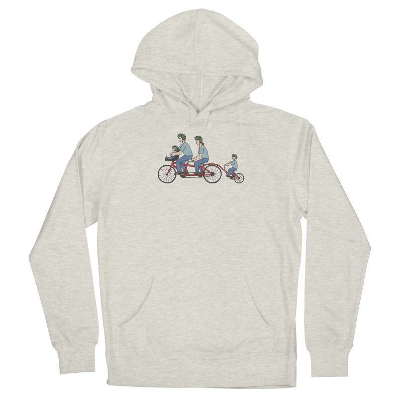 Quad Bicycle Men's Pullover Hoody by The Wandering Fools Artist Shop
