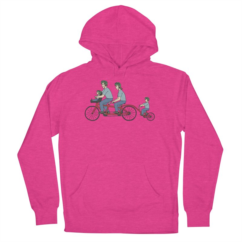 Quad Bicycle Women's French Terry Pullover Hoody by The Wandering Fools