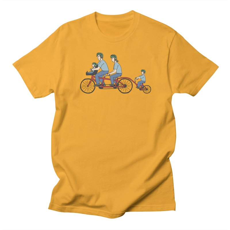 Quad Bicycle Women's Regular Unisex T-Shirt by The Wandering Fools
