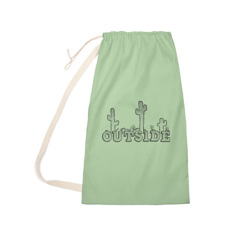 Outside Accessories Laundry Bag Bag by The Wandering Fools
