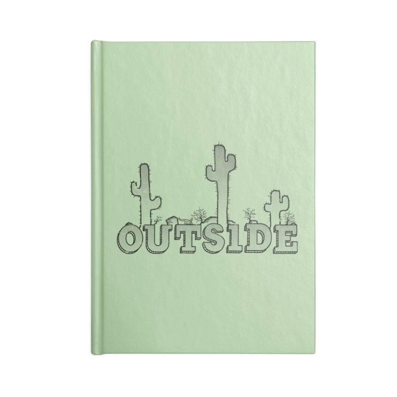 Outside Accessories Lined Journal Notebook by The Wandering Fools
