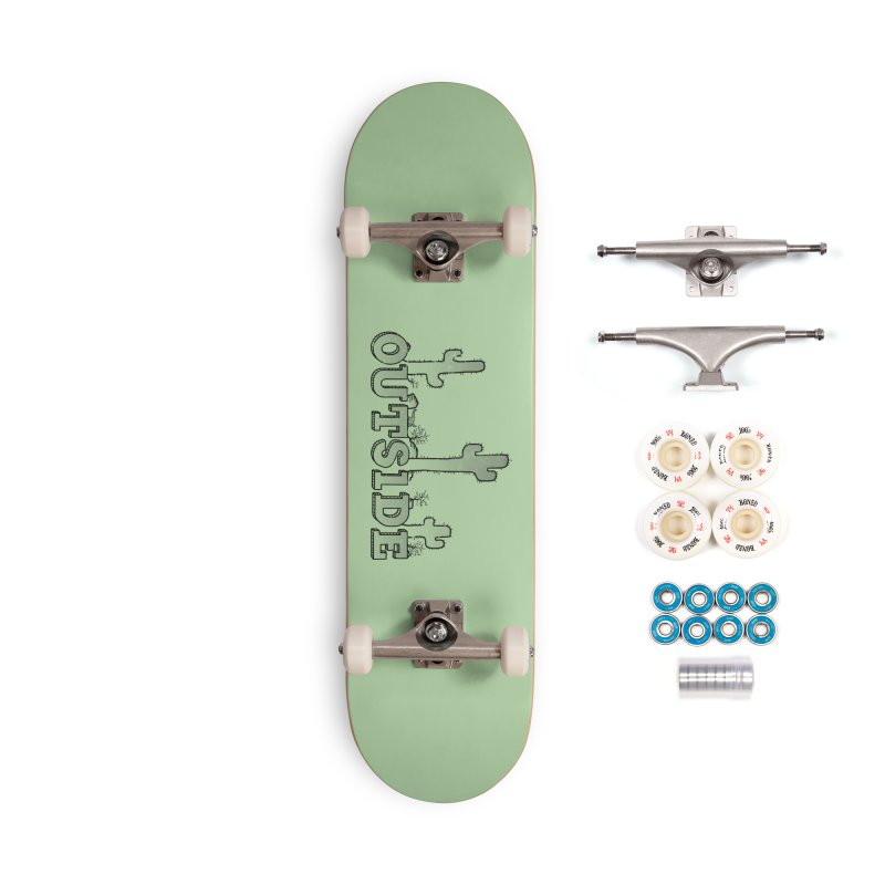 Outside Accessories Complete - Premium Skateboard by The Wandering Fools