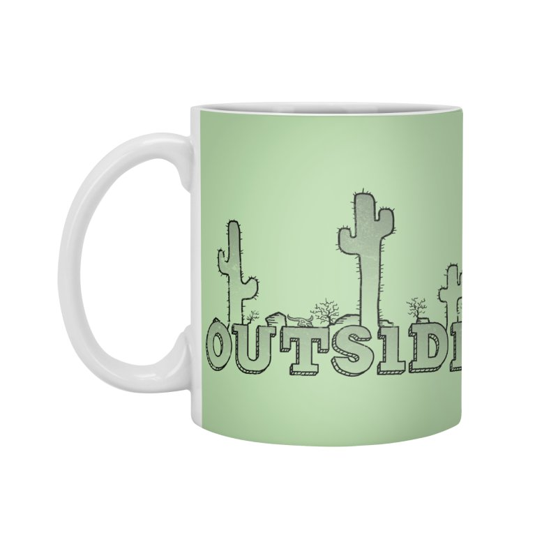 Outside Accessories Standard Mug by The Wandering Fools
