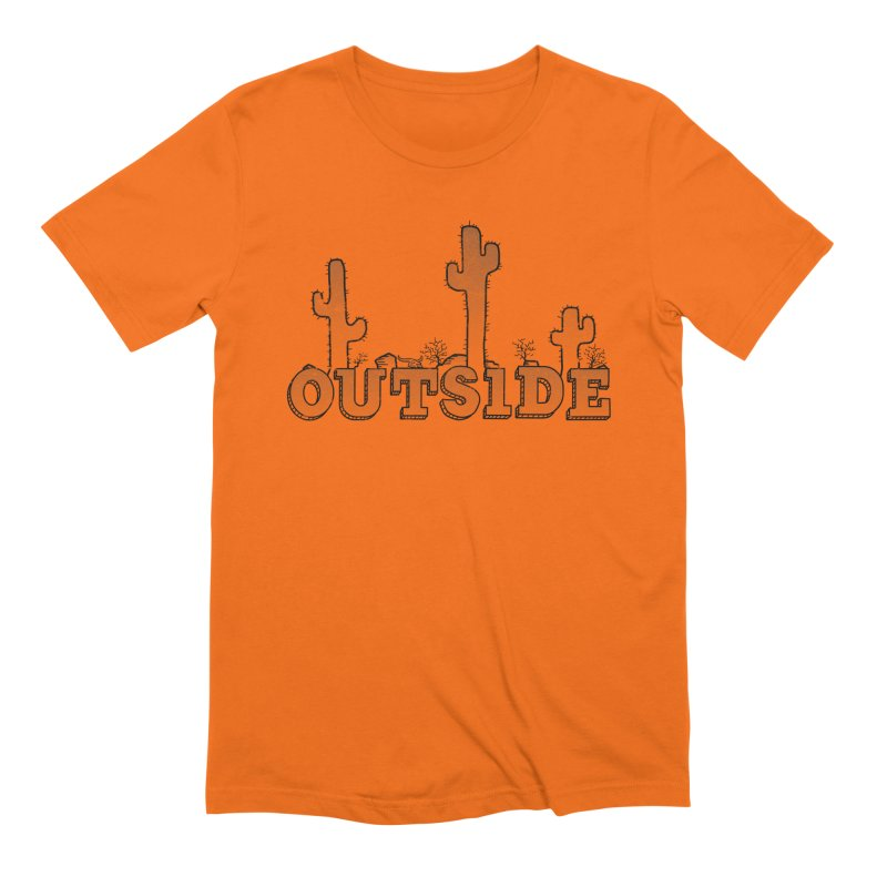Outside Men's Extra Soft T-Shirt by The Wandering Fools
