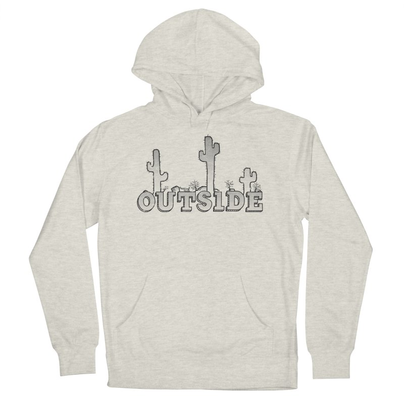 Outside Men's Pullover Hoody by The Wandering Fools