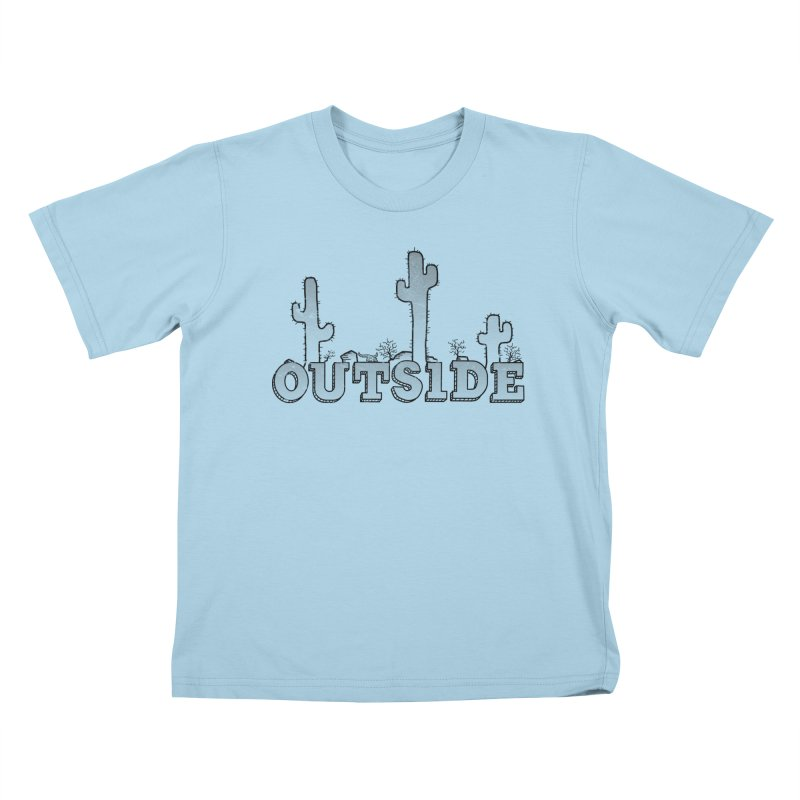Outside Kids T-Shirt by The Wandering Fools