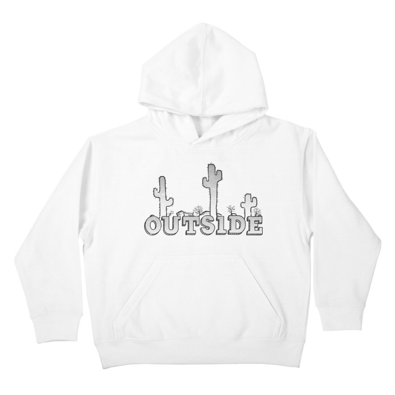 Outside Kids Pullover Hoody by The Wandering Fools