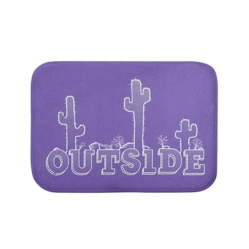Outside Home Bath Mat by The Wandering Fools