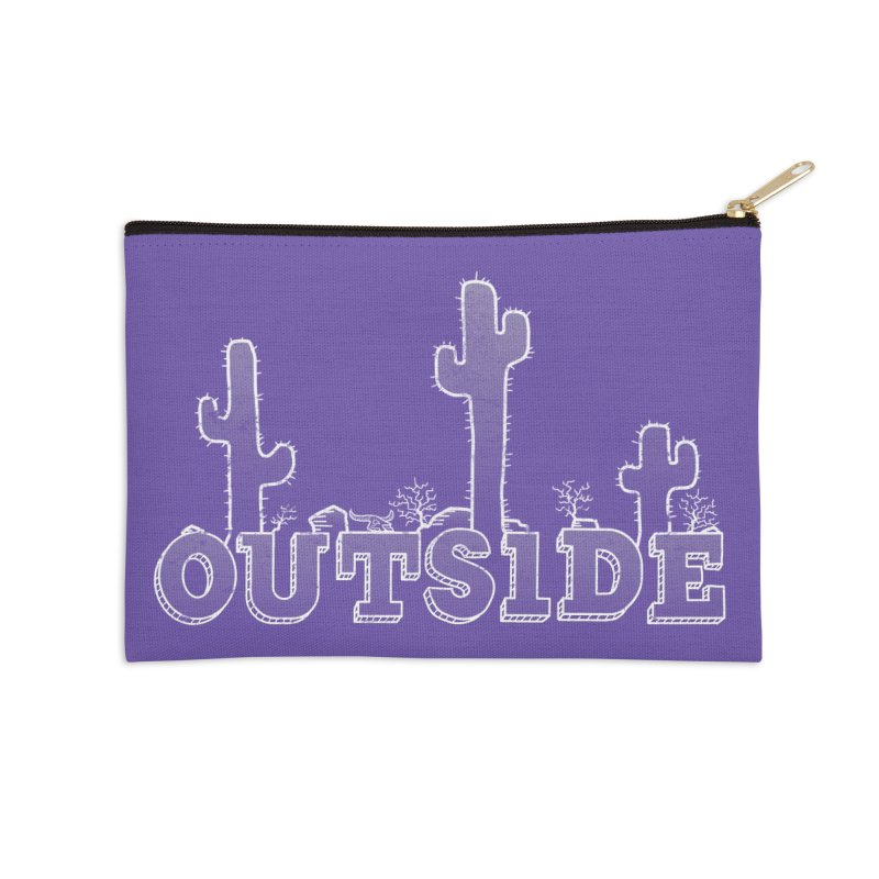 Outside Accessories Zip Pouch by The Wandering Fools
