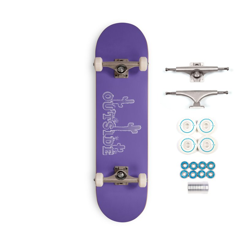 Outside Accessories Complete - Basic Skateboard by The Wandering Fools