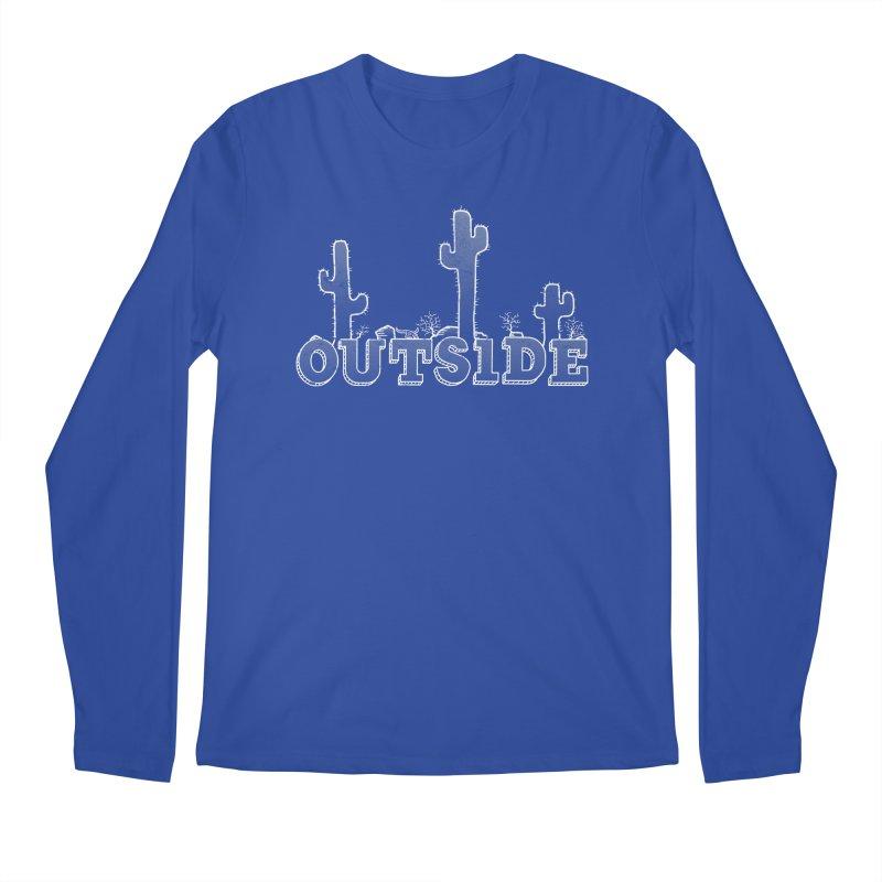 Outside Men's Regular Longsleeve T-Shirt by The Wandering Fools