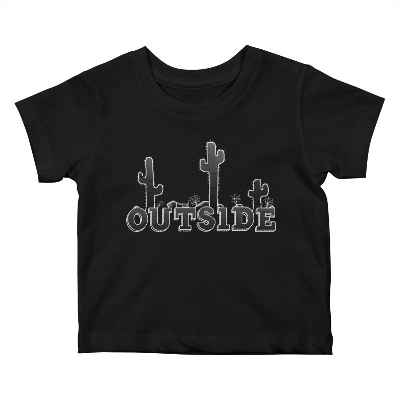 Outside Kids Baby T-Shirt by The Wandering Fools
