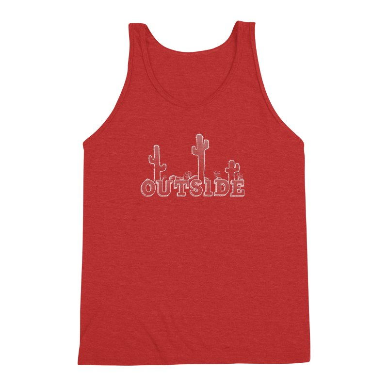 Outside Men's Triblend Tank by The Wandering Fools
