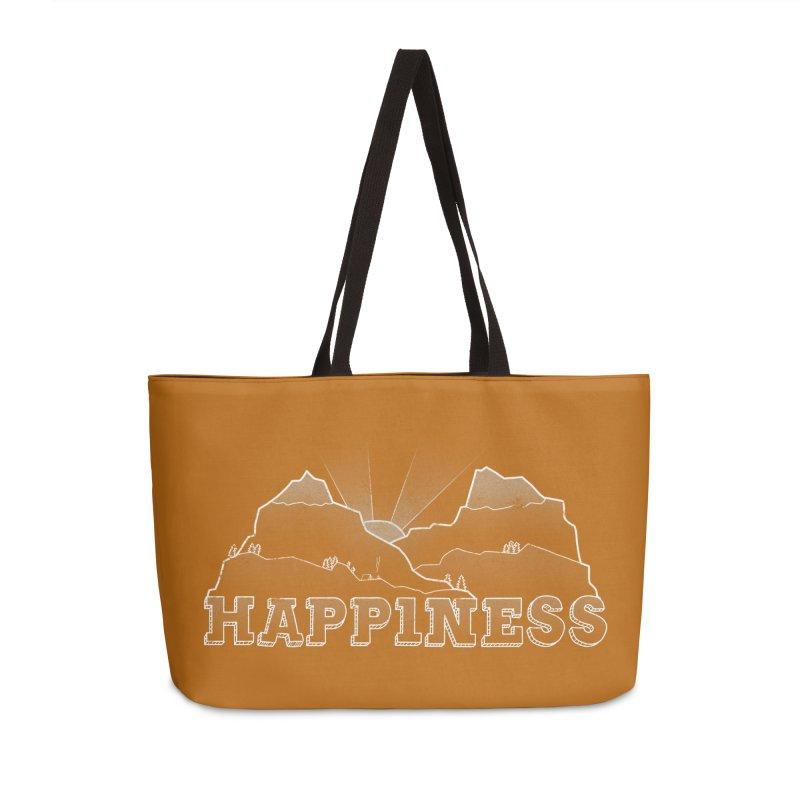 Happiness Accessories Weekender Bag Bag by The Wandering Fools