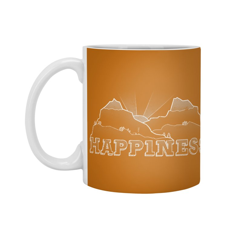 Happiness Accessories Standard Mug by The Wandering Fools