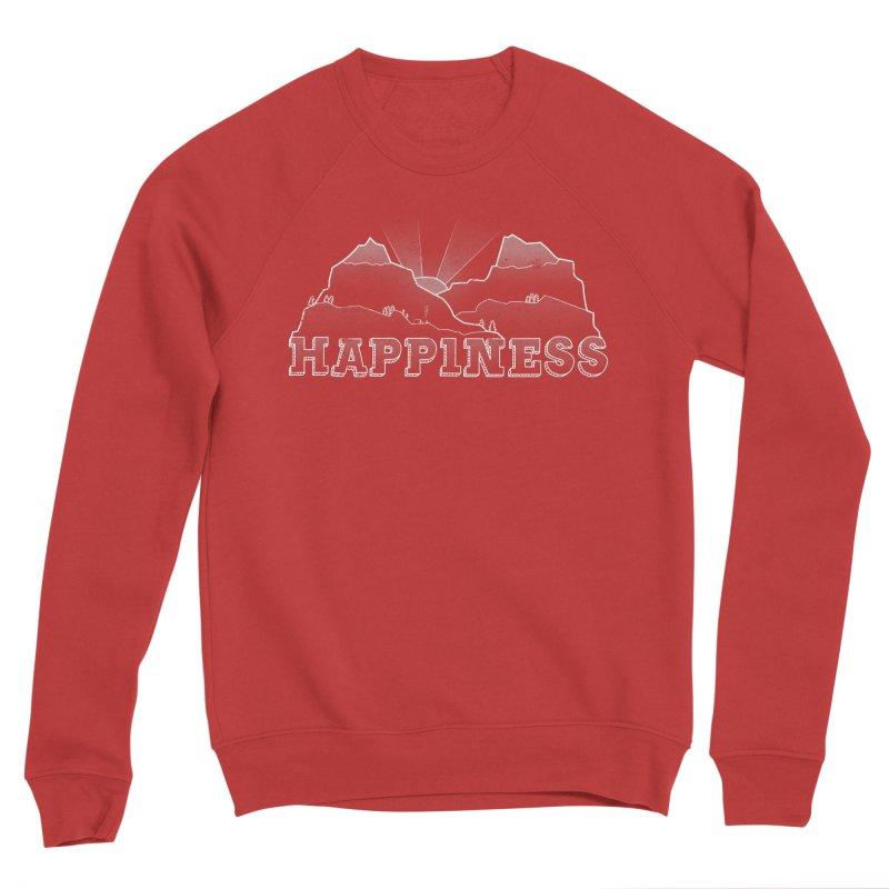 Happiness Women's Sponge Fleece Sweatshirt by The Wandering Fools