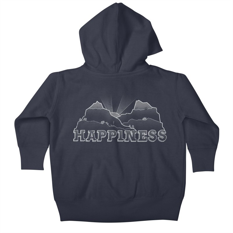 Happiness Kids Baby Zip-Up Hoody by The Wandering Fools