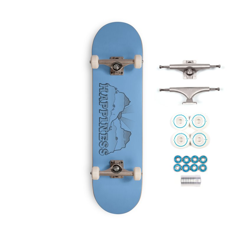 Happiness Accessories Skateboard by The Wandering Fools Artist Shop