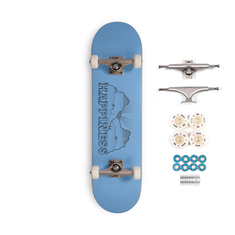 Happiness Accessories Complete - Premium Skateboard by The Wandering Fools