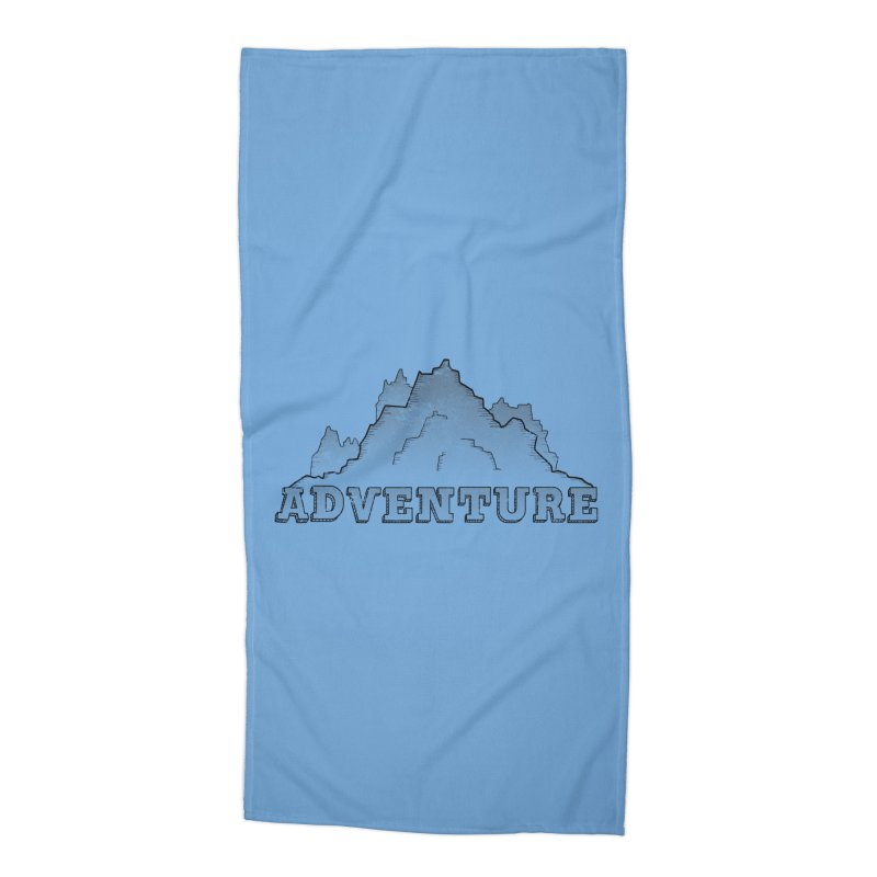 Adventure Accessories Beach Towel by The Wandering Fools