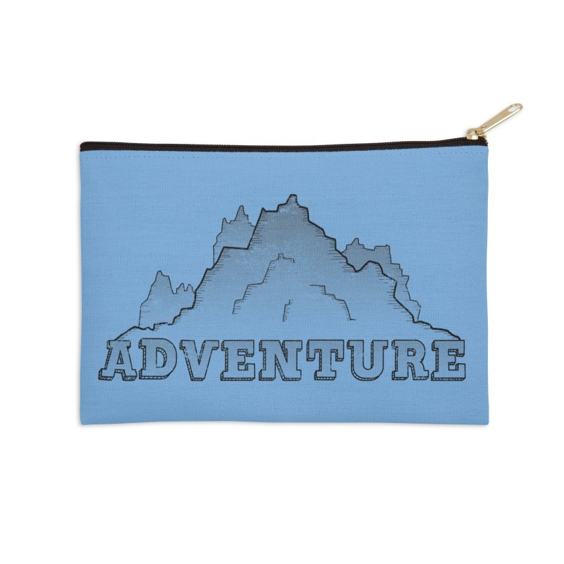 Adventure Accessories Zip Pouch by The Wandering Fools Artist Shop